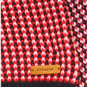 lovely knit scarf from Coach